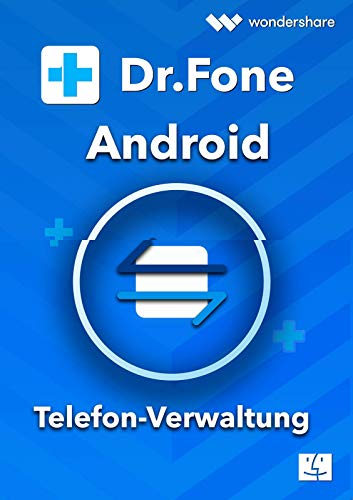 Dr.Fone Android MAC Telefon Verwaltung (Product Keycard ohne Datenträger) Lifetime