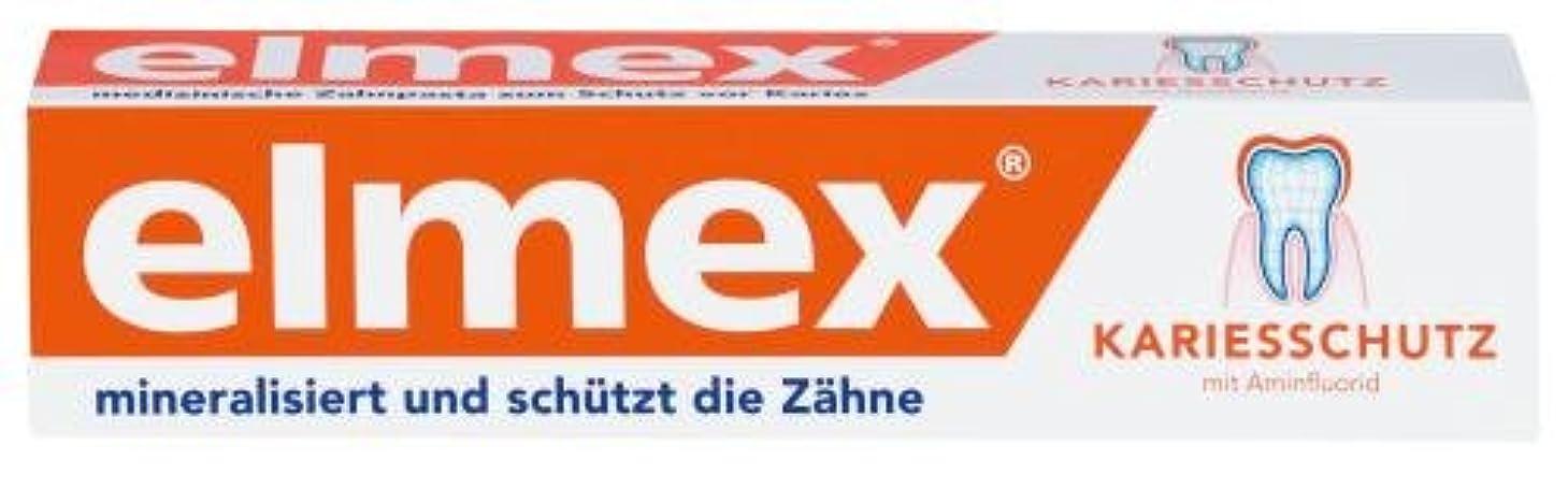 うまれた食べる悪化するELMEX toothpaste m. folding box
