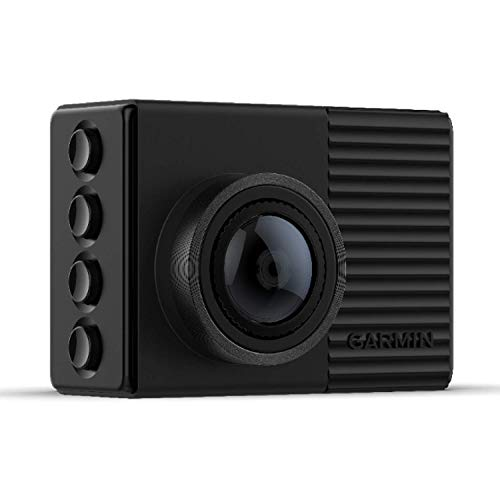 Garmin Dash Cam 66W GPS-Enabled with 2-inch Display, Voice Command, Extra-wide 180-degree Field of View and Recording in 1440p HD Video