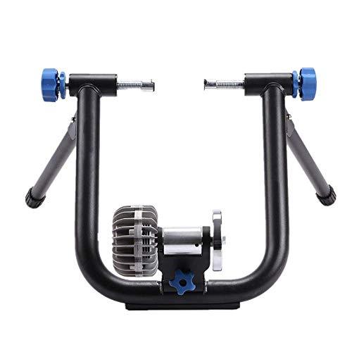 WEI-LUONG plegable La resistencia de la bicicleta Trainer líquido de bicicletas en Internet Fluid entrenamiento de resistencia Ejercicio Cámara cuadros de bicicleta de ejercicio de interior (Color: Ne
