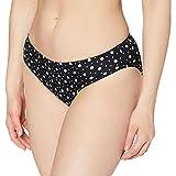 Pour Moi? Mini Maxi Brief Braguita de Bikini, Negro (Black Black), 75 (Talla del Fabricante: 16) para Mujer