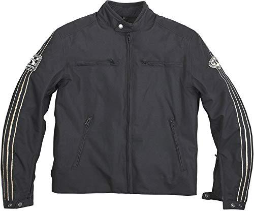Helstons Motorradjacke mit Protektoren Motorrad Jacke Textiljacke Ace schwarz 6XL, Herren, Tourer, Ganzjährig