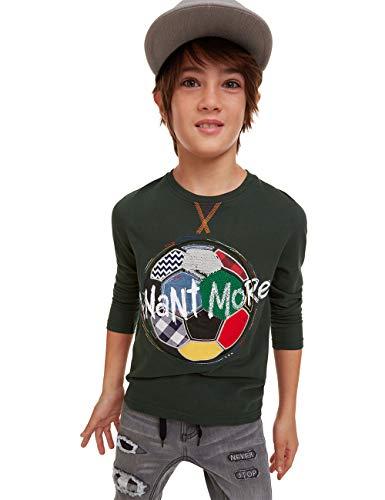 Desigual T-Shirt Fermin Camiseta de Manga Larga para Niños