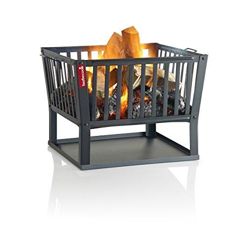 Barbecook Braséro Classic Squadra, Noir, 62 x 62