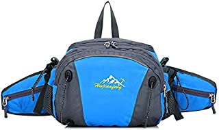 SKYSPER Hiking Waist Bag with a Extended Pocket Cycling waist bag Running waist bag Waterproof Outdoor Sports Waist Bag Travel Hiking Backpack Trekking Daypack for Outdoor Gym Hiking Fishing
