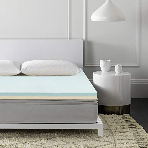 Genniyz Memory Foam Mattress Topper, Pain-Relief Soft Bed Topper (Full, 4.0)