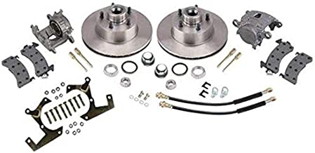 Deluxe Disc Brake Kits: 1957-1964 Fits Ford Half Ton
