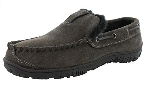 Clarks Men's Warren Slip-On Loafer (10 M US, Grey Suede)