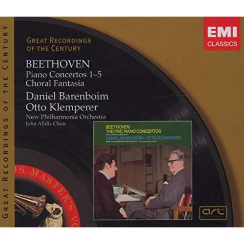 Beethoven: Piano Concertos 1-5 - Choral Fantastia