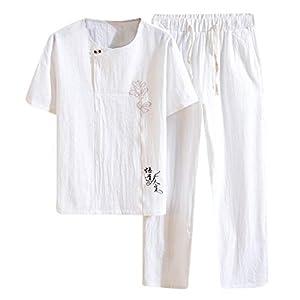 メンズ Tシャツ 半袖 mechanC トップス ハーフ ショート パンツ 上下 セット アップ 無地 柄 部屋着 ルームウェア 半袖 短パン 上下セット 部屋着 ウエスト紐 首元 ボタン 春 夏 トレーニングウェア ドライ Tシャツ ショートパンツ