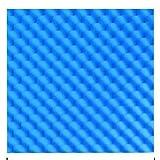YNFNGXU (Alta Densidad) Retardante de Llama de algodón, fácil de Instalar Recamara acústica Huevo Modelo Panel de Onda de absorción de Sonido (50x50x3.5cm) (Color : Blue, Size : 40pack)