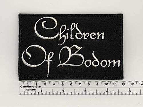 Children of Bodom Logo Patch 12cm x 8cm / 4,72' x 3,15' (Iron-On)