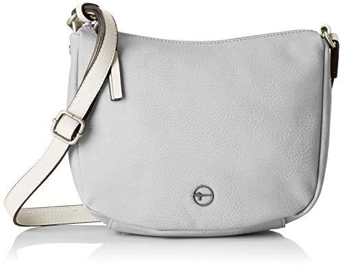 Tamaris Aurora Crossbody Bag S, Sacs bandoulière femme, Gris (Light Grey Comb), 3x25x29 cm (W x H L)