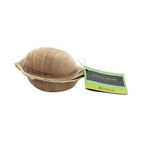 Savon ayurvédique Adoucissant : basilic sacré, palmarosa & ylang-ylang - 100 g