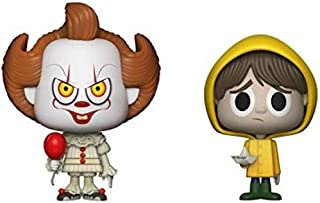 Stephen King It Movie Pennywise The Clown and Georgie 2 Collectible Vinyl Figures