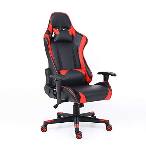 Wolf ES Draaistoel met beensteun, ergonomisch verstelbaar, bureaustoel met wieltjes