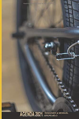 Sport Vélo Agenda 2021 Semainier & Mensuel: Bmx   12 mois Janvier à Décembre 2021   Hebdomadaire, Mois & Annuel   RDV, organiseur  Cadeau Homme Femme Adolescent