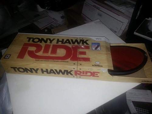 Tony Hawk Ride Game and Wireless Skateboard Controller (Limited Edition Board)