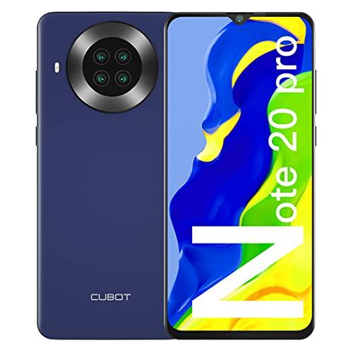CUBOT Note 20 Pro Cellulari Offerte, 6GB RAM + 128GB ROM Octa Core Smartphone, 6.5 pollici HD+ Cellulare Android 10, Quad Camera 12MP + 20MP, 4200 mAh Telefono 4G Dual SIM, NFC, Face ID, GPS