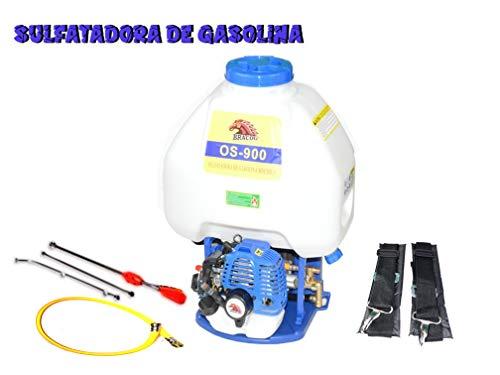 BRACOG - Mochila para sulfatar 30L - Motor Gasolina de 2 Tiempos - Desplazamiento - 26CC - Mezcla de Combustible Gasolina (25:1)