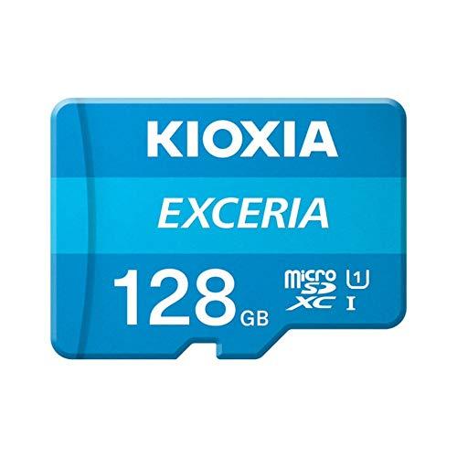 128GB microSDXCカード マイクロSD KIOXIA キオクシア EXCERIA CLASS10 UHS-I R:100MB/s 海外リテール LMEX1L128GG4