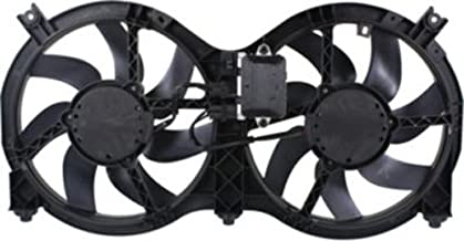 CPP Center Dual Cooling Fan for Infiniti JX35, QX60, Nissan Pathfinder NI3115149