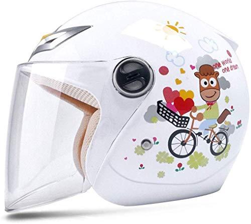 XZ Casco portátil para niños Casco para bicicleta Niño Niña Bebé Casco...