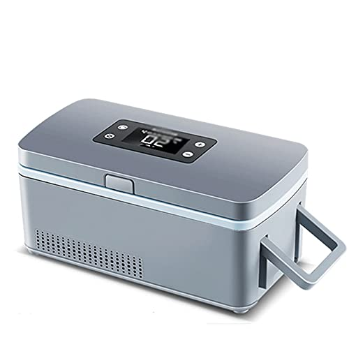 Mini Refrigerador, Nevera De Insulina Con Recordatorio Inteligente, PortáTil Insulina Caso Del Recorrido, 2 ℃ ~ 8 ℃ Estuche Enfriador De Insulina De Bajo Ruido-Touch Screen