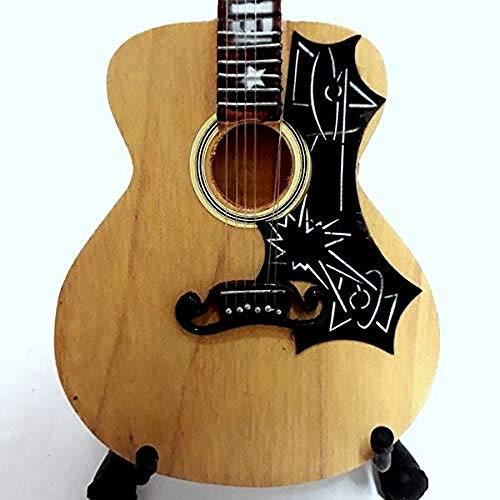Mini guitarra de colección réplica de madera–Elvis Presley