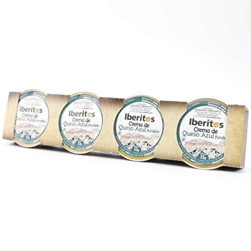 Iberitos - Monodosis De Crema De Queso Azul - 4 Unidades X 23 Gramos