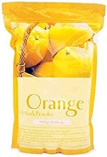 Huini Peel Off Whitening Lightening Freckles Remove Orange Elastic Soft Mask Powder 35.2oz for All Type of Skin