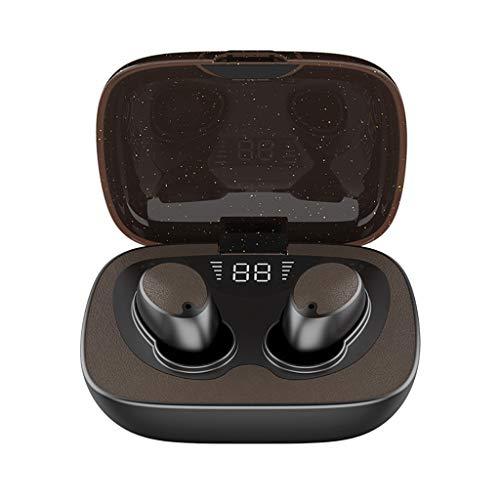 Auriculares Bluetooth BJJH Bluetooth 5.0 In-Ear Sport In-Ear auriculares inalámbricos con micrófono incorporado, DSP HD de calidad de sonido resistente al agua, calidad estable, vida más larga Garu.