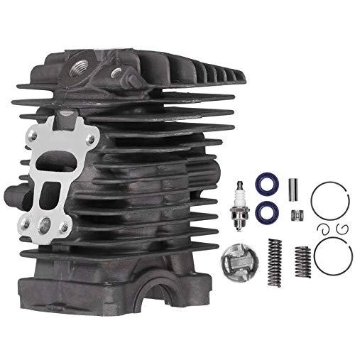 EXID Kit de cilindro, kit de pistón de cilindro de 40 mm apto para piezas de repuesto de motosierra Stihl MS211 MS 211C MS211C