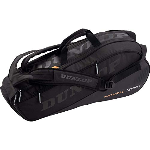 Dunlop NT 8 Racket Sporttasche, Black/Black, 1size
