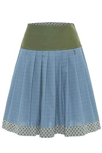 Hammerschmid Damen Trachtenrock blau grün, 41-ROSA (blau grün), 44