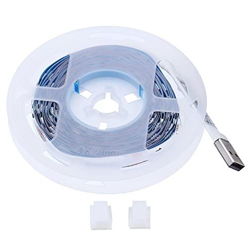 Tira de luz RGB, Tira de luz LED, Diferentes Modos de iluminación 5050, Cuentas de lámpara de Alto Brillo para decoración del hogar, Luces de Fondo de TV(4M 72LED)