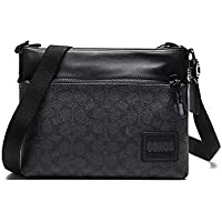 Coach Signature Canvas With Coach Patch Pacer Crossbody