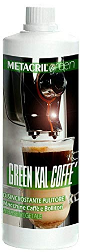 Desincrustante orgánico para la máquina de café, para bollitori, agujas de planchar, etc.-Green Kal Coffe 500ml–Envío immediata