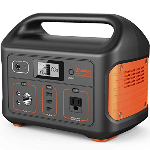 Jackery Portable Power Station Explorer 500, 518Wh Outdoor Solar Generator Mobile Lithium Battery...