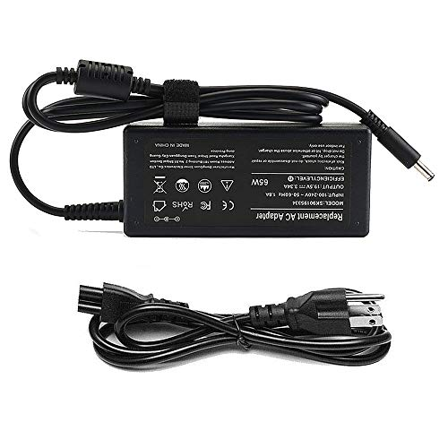 65W AC Adapter for Dell Inspiron Laptop Charger 11 13 14 17 15 3000 5000 7000 Series Inspiron 15 5100 3567 3583 5566 5578 5558 5559 5567 5568 5575 7579 7569 Power Supply Cord