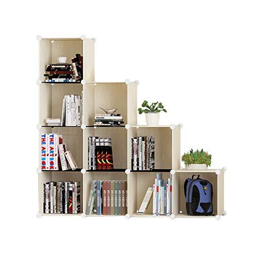 YLCJ boekenkast, moderne kunststof kast voor opslag, eenvoudige combinatie Gratuita Economico I (kleur: C)