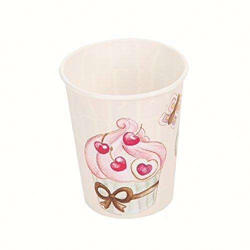THUN Sweetcake Bicchieri di Carta, Multicolore, 0.1 x 0.1 x 0.1 cm