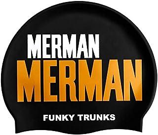 Funky Trunks Golden Merman Silicone Swim Cap