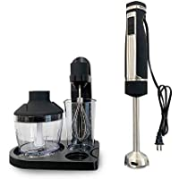 Blendtec Kitchenetics Immersion Hand Blender, Mixer and Food Processor