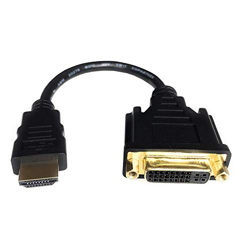 HDMI to DVI Cable, Anbear Bi-Directional HDMI Male to DVI-D(24+1) Female Adapter, 4k DVI to HDMI Conveter
