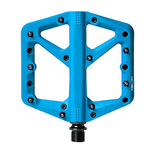 Crank Brothers CRANKBROTHERS Stamp-1 Pedale, blau, L