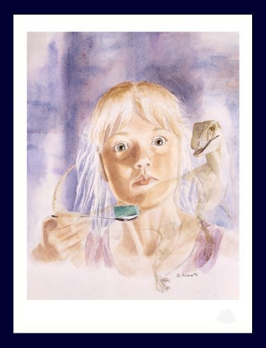 Jurassic Park - Raptor Vision - by Ariana Richards