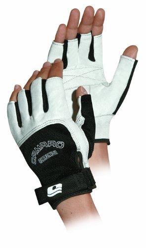 Camaro Handschuhe Skintex Shortfinger Gloves - Guantes de Ciclismo para Hombre, Color Multicolor, Talla S