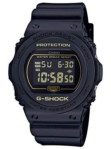 CASIO Herren Digital Quarz Uhr mit Resin Armband DW-5700BBM-1ER