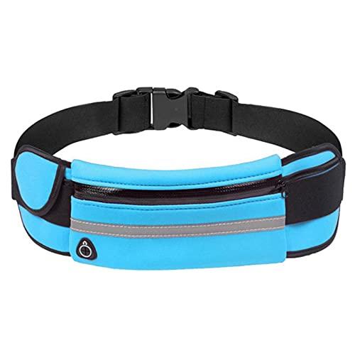 ZYNS Riñonera Accesorios Deportivos Cintura Al Aire Libre Bolsa De Cintura Impermeable Cinturón De Jogging Bolsa De Vientre Mujer Gimnasio Bolsa De Fitness Señora